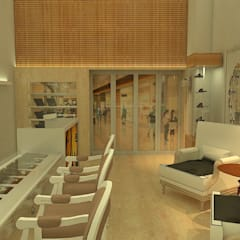 WM Jóias : Espaços comerciais  por Efeito Arquitetura
