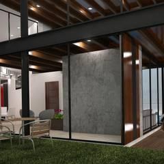 Condominios de estilo  por LEGNO