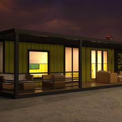 บ้านสำเร็จรูป โดย Next Container, โมเดิร์น