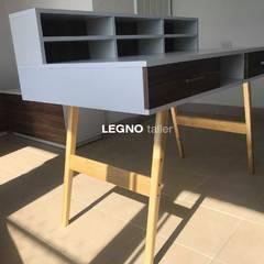 CONSULTORIO PSICOSALUD: Estudios y oficinas de estilo escandinavo por LEGNO