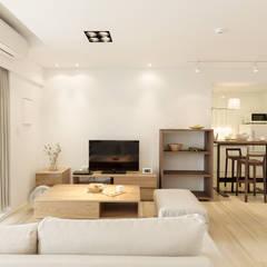 غرفة المعيشة تنفيذ 文儀室內裝修設計有限公司