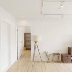 Living room by 文儀室內裝修設計有限公司