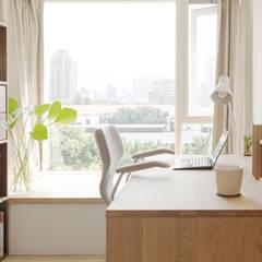 Studeerkamer/kantoor door 文儀室內裝修設計有限公司