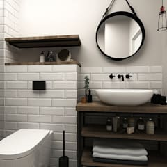 scandinavian Bathroom by Femberg Architektura Wnętrz