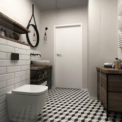 Phòng tắm by Femberg Architektura Wnętrz