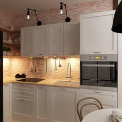SALON KUCHNIA No 011: styl , w kategorii Kuchnia zaprojektowany przez Femberg Architektura Wnętrz
