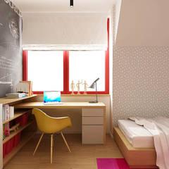 Pokój dziecka: styl , w kategorii Pokój dla dziwczynki zaprojektowany przez Femberg Architektura Wnętrz