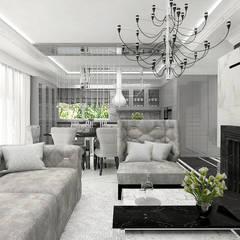 TURN BACK THE CLOCK | Wnętrze domu: styl , w kategorii Salon zaprojektowany przez ARTDESIGN architektura wnętrz