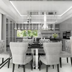 TURN BACK THE CLOCK | Wnętrze domu: styl , w kategorii Jadalnia zaprojektowany przez ARTDESIGN architektura wnętrz