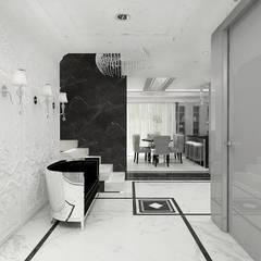 TURN BACK THE CLOCK | Wnętrze domu: styl , w kategorii Korytarz, przedpokój zaprojektowany przez ARTDESIGN architektura wnętrz