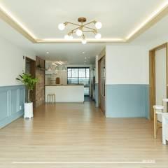modern Living room by 덴보드