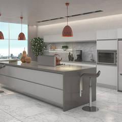Diseño de Cocina: Cocinas de estilo  por Gabriela Afonso