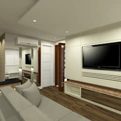 Apartamento: Eletrônicos  por INOVAT Arquitetura e interiores