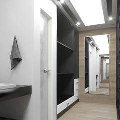 Closet - Vestidor: Vestidores y closets de estilo  por ARQSU, Arquitectura e Interiorismo