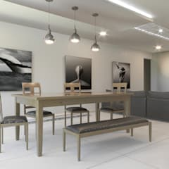 Comedor: Comedores de estilo minimalista por ARQSU, Arquitectura e Interiorismo