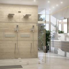 1: Baños de estilo  por Gabriela Afonso