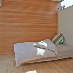 sadalsuud: ポーラスターデザイン一級建築士事務所が手掛けた寝室です。