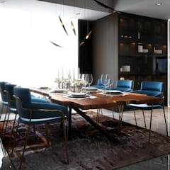 Penthouse:  Dining room by Norm designhaus