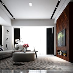Penthouse: modern Living room by Norm designhaus