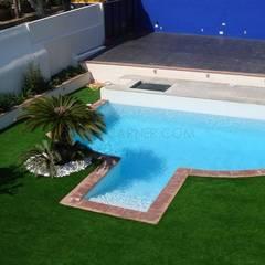 Jardín con piscina!: Piscinas de jardín de estilo  de Imma Carner Arquitectura Interior