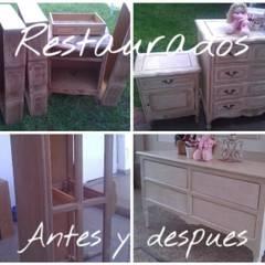 Antes y despues#reciclados: Dormitorios infantiles de estilo  por ANADECO - Decoradora y Diseñadora de Interiores - La Plata