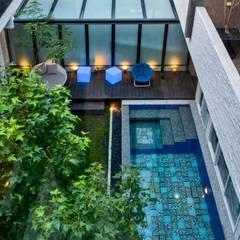 轉角的祕境:  泳池 by Zendo 深度空間設計
