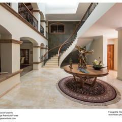 Recibidor: Pasillos y recibidores de estilo  por René Flores Photography