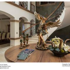 Recibidor : Pasillos y recibidores de estilo  por René Flores Photography