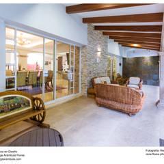Terraza del comedor: Terrazas de estilo  por René Flores Photography