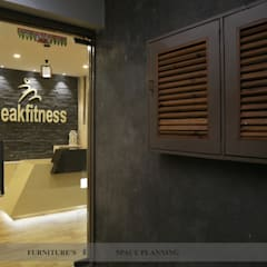 Entrance:  Gym by intent interior