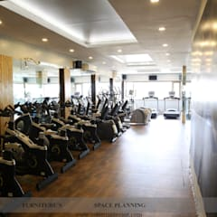 Cardio Area:  Gym by intent interior