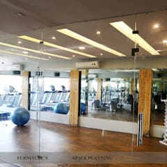 Zumba Classes Area:  Gym by intent interior