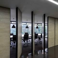 Estudios y oficinas de estilo  por NOAH Proyectos SAS