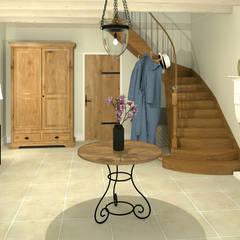L'entrée: Couloir et hall d'entrée de style  par MJ Intérieurs