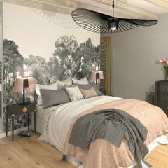 La suite parentale: Chambre de style de stile Rural par MJ Intérieurs