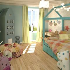 Girls Bedroom توسطMJ Intérieurs