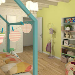 Girls Bedroom by MJ Intérieurs, Country