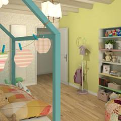 غرفة نوم بنات تنفيذ MJ Intérieurs