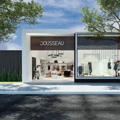 DOSSEAU: Lojas e imóveis comerciais  por AOI Arquitetura