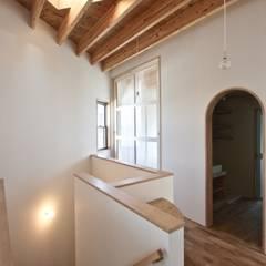 2階階段スペース: 一級建築士事務所 Coo Planningが手掛けた階段です。