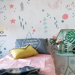 Baby room by 勁懷設計,