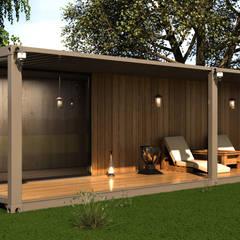 Casas prefabricadas de estilo  por Next Container