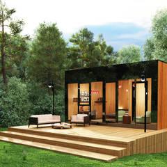 Next Container – Next Container - Mountain 60:  tarz Prefabrik ev