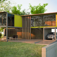 Prefabricated home by Next Container