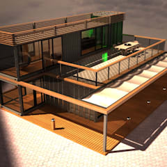 Next Container – Next Container - Samira 210:  tarz Prefabrik ev