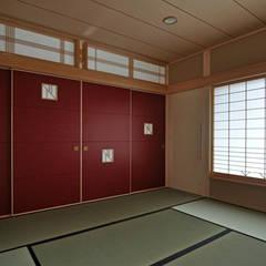(株)独楽蔵 KOMAGURA: eklektik tarz tarz Multimedya Odası