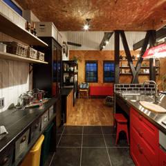 house-17: dwarfが手掛けたキッチンです。
