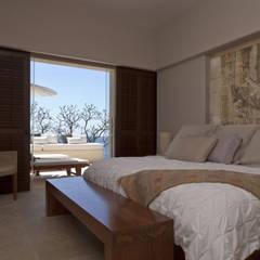Finestre: Dormitorios de estilo  de Mayúscula Arquitectos