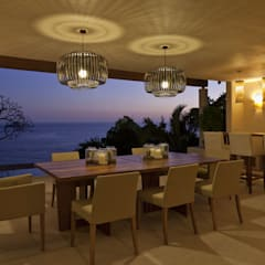 Dining room by Mayúscula Arquitectos
