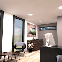 Office CUBE :  Kantoor- & winkelruimten door CUBE Homes